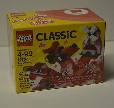 lego classic 10707 red