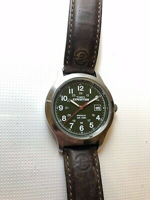 vintage timex expedition watch