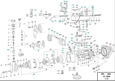 FORD TRACTOR DIESEL Injection Pump 801 901 2000 4000