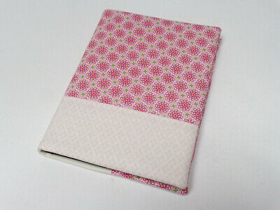 Medium address book in a fabric cover pink pink NEW telephone book