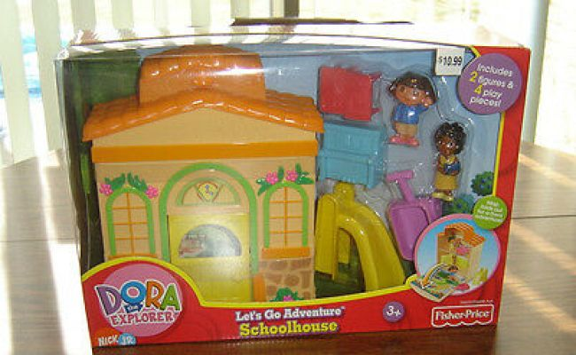 Dora The Explorer Treehouse Let S Go Adventure Playset