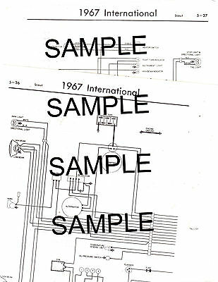 1969 JEEP JEEPSTER 69 4 Cyl 6 Cyl Models Wiring Guide