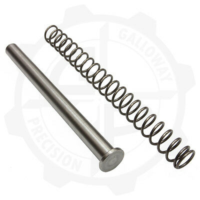 STAINLESS STEEL Guide Rod w 18lb Recoil Spring for Sig