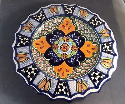 100 mexican tiles 2x2 ceramic pottery