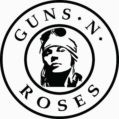 GUNS N ROSES Sticker Decal (S421) Guns And Roses Rock