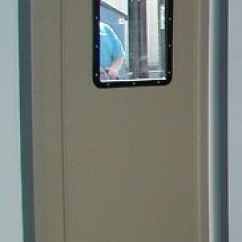Commercial Kitchen Door Stainless Steel Packages Traffic 36 X 80 Tan Restaurant Swing Swinging
