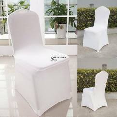 Folding Chair Covers For Wedding Race Seat Office 50 100x Spandex Universal Metal Plastic 10 20 100 Fitted Party Banquet