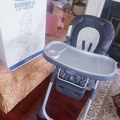 Graco Duodiner Lx High Chair Indoor Chaise Lounge Chairs Canada 40 00 Picclick