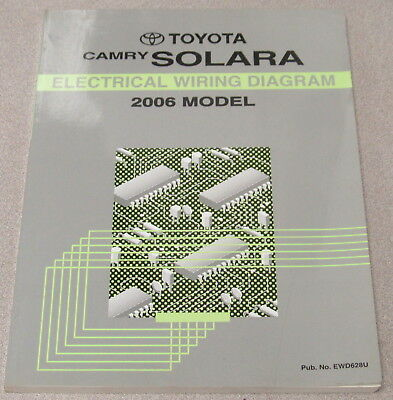 2002 toyota camry solara electrical wiring diagram manual oem