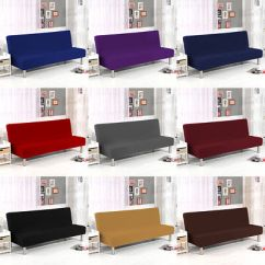 Sofa Bed Covers Best Sofas For Narrow Doorways Stretch Cover Full Folding Armless Elastic Futon Slipcover Couch