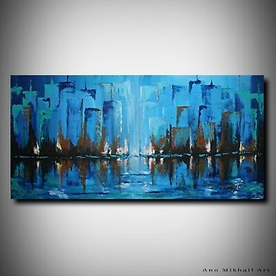 abstract acrylic painting large