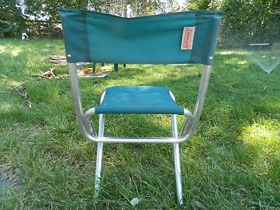 coleman folding chairs revolving chair in urdu 4 vintage aluminum for camp rv trailer travel 84 00 picclick