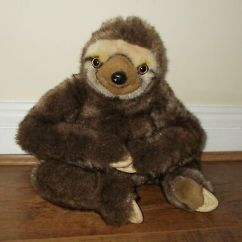 Neal Sofaworks Teddy Reclining Lounge Sofa Chair Soft Neil The Sloth Toy Sofology Advert Advertising