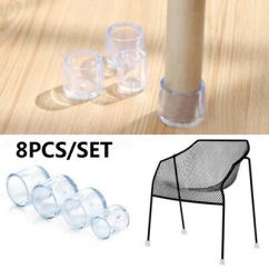 Rubber Chair Protectors Cheap Dining Chairs For Sale 8pcs Leg Cap Floor Feet Pad Furniture Table Silicon Protector Cover
