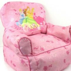 Minnie Mouse Bean Bag Chair Wedding Cover Hire Shropshire Disney Kids Sofa Toddler Tinkerbell Princess Pink Washable Cinderella Belle Tiana