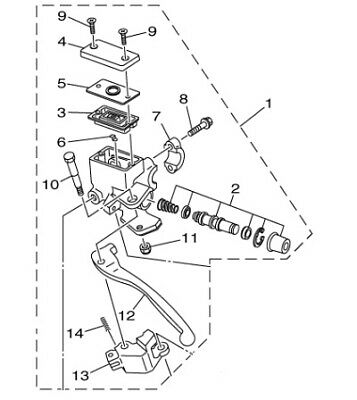 Yamaha Grizzly Part Diagram