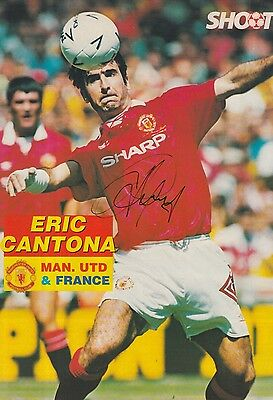 I was lucky enough to pack some crazy cards this year but after over 500 games with some i wanted to test other players. Eric Cantona Manchester United Legend Hand Signed France 98 Fdc Nice Signing 89 99 Picclick Uk