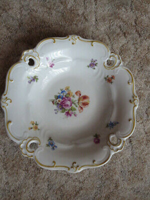 Collecting plate jewelry plate Weimaer porcelain GDR very good condition