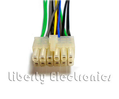 pioneer deh 245 wiring diagram 2 international 4300 12 pin 2x6 wire harness 225 435 7 99 new auto stereo for 425
