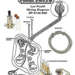 Gibson Les Paul Wiring Diagram Dsc Kit For Complete W Cts Pots Switchcraft Switch