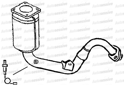 PEUGEOT 306 1.6 Nfz Saloon 00-01 Exhaust Manifold Spare