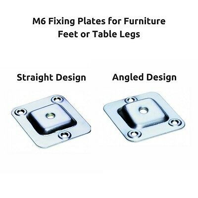Angled Table Leg Brackets