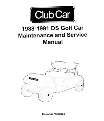 Amf harley davidson 19631980 golf cart repair manual