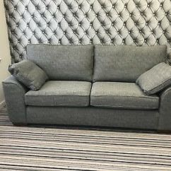 Grey Fabric Sofa Next Coaster Tess Sectional Stamford Large In Boucle Weave Dark Rrp 1099