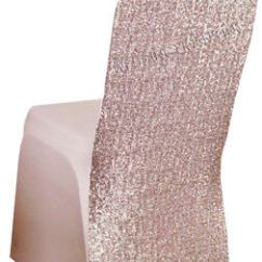 Chair Covers Rose Gold Ikea Furniture Chairs Blush Spandex Banquet Cover 4 Pk 29 08 Wedding Linens Inc Sequin Stretch For Party Events