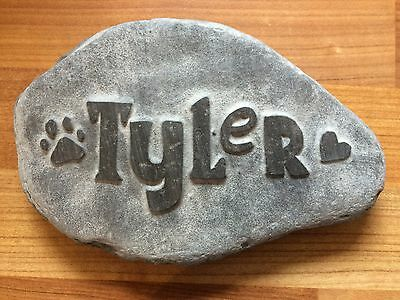 personalised hand carved paw