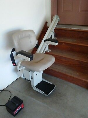 bruno chair lifts fitness ball stair lift sre2000 1 year new charger battery 2 remotes rail