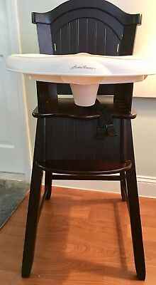eddie bauer high chairs patio chair armrest covers classic comfort 3 in 1 wood 48 00 picclick