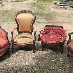 Sofa And More Astin Leon S Antique Victorian Chairs 1 500 00 Picclick Lot Of Furniture