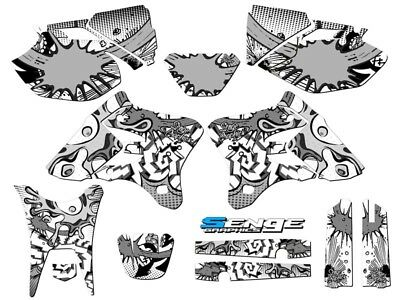 2003-2004 YAMAHA WR 250 450 Graphics Kit Decals Stickers