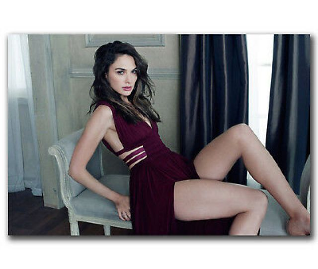 Gal Gadot Wonder Woman Sexy Movie Super S Art Hot  Xin Fabric Poster N
