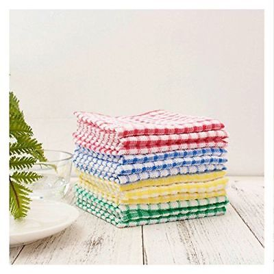 bulk kitchen towels cabinet spice rack 100 cotton dish cloths scrubbing dishcloths sets