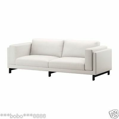 backamo 3 seater sofa slipcover soft leather cleaning ikea nockeby cover couch cushion removable three set only seat