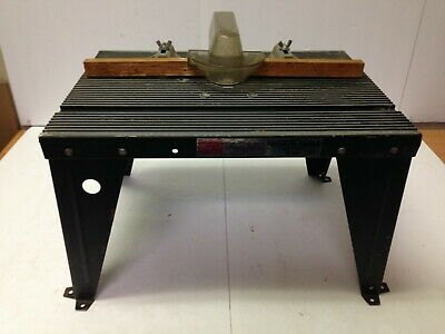 Sears Craftsman Router Table Manual