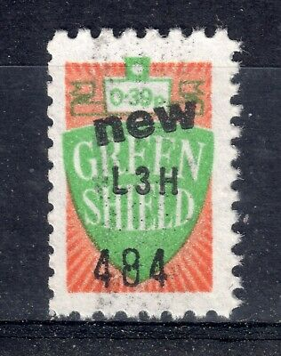 GB = `NEW GREEN SHIELD` 1 Unit Savings Stamp. SHEET issue. MNH. Not now given.