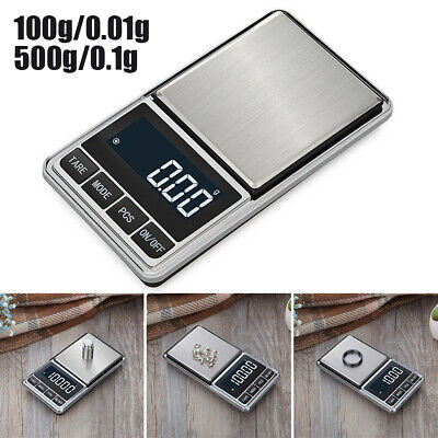 0.1g Precision Jewelry Electronic Digital Scale Weight Pocket 100 / 200g