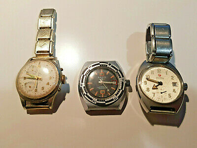 Vintage diver watch base, diver watch, Cimier Chronoraph and Roamer Sport