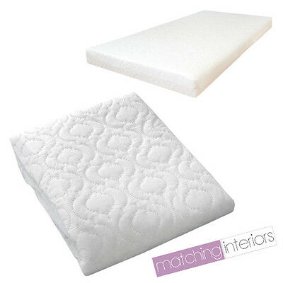 Quilted Baby Cot Mattress Fully Breathable 120 X 60 5 Cm Cover Only