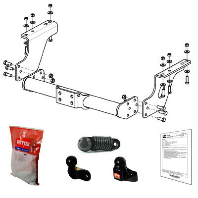 Witter Towbar for Iveco Daily 60-70 Van/Chassis Cab 2014
