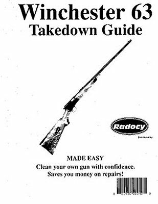 WINCHESTER MODEL 97 Rifles Takedown Guide Radocy Assy