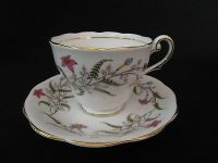 Two Royal Standard Cups And Saucers In Fancy Free Pattern ...