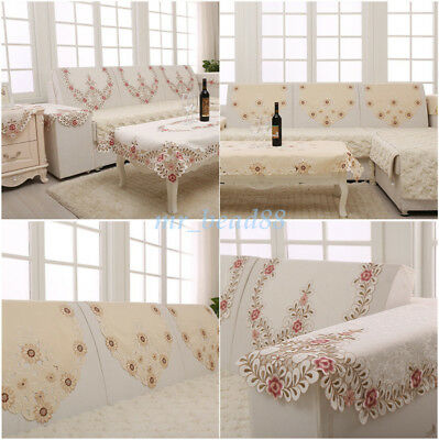 quilted embroidery sectional sofa couch slipcovers furniture protector cotton bed with chaise cover for 1 2 3 1pc slipcover backrest cloth seater