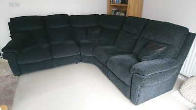 lazy boy corner sofa uk rose anic black la z tamla from scs seats 5 very good condition