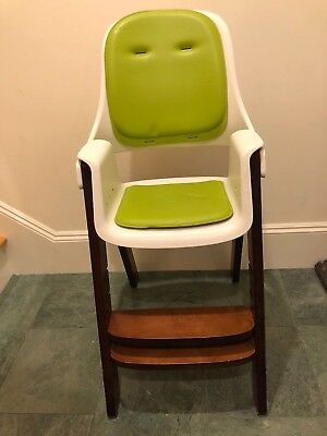 oxo tot sprout chair retro leather office with manual all put together green brown white