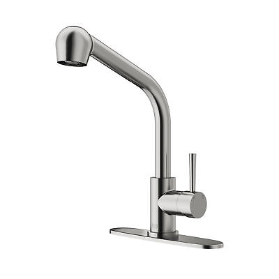 vigo kitchen faucet base cabinets with drawers vg02019stk1 avondale pull out spray includes escutcheon