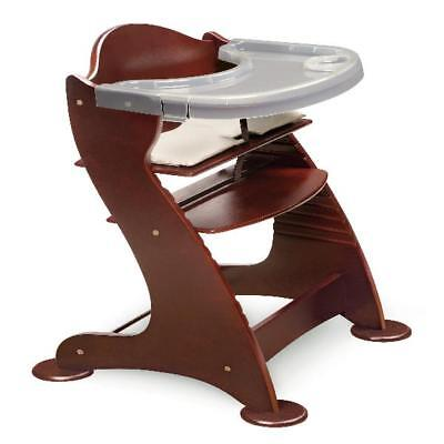 badger basket high chair white plastic rocking embassy adjustable wood in espresso 00936 wooden baby feeding tray booster seats durable